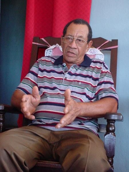 """Félix Risel Lirian, """"Jabao"""", uno de los fundadores."""