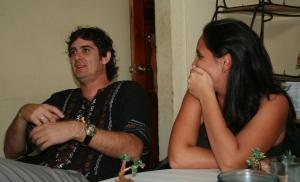 Durante el primer encuentro del periódico UniversitariO, Las Tunas, enero 2011.