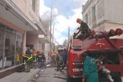 Como en 2008, varios comandos de prevención contra incendios participaron, incluyendo el del municipio de Vertientes.