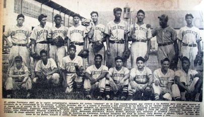 Vertientes Liga Inter 1944